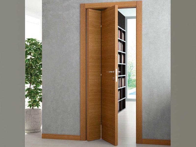 Межкомнатные складные двери-книжка